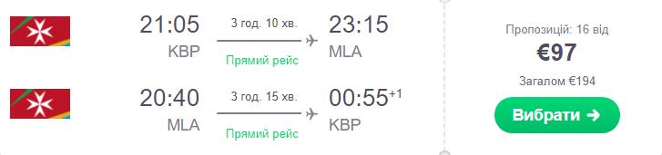 Київ - Мальта- Київ >>