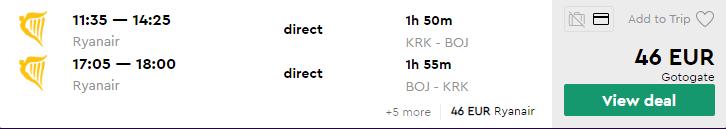 Краків - Бургас - Краків