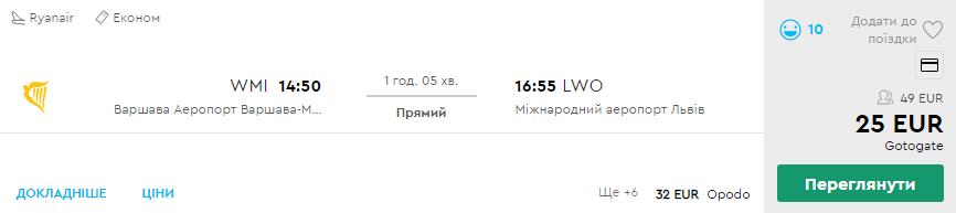 Варшава - Львів