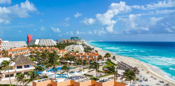Мексика Канкун пляж