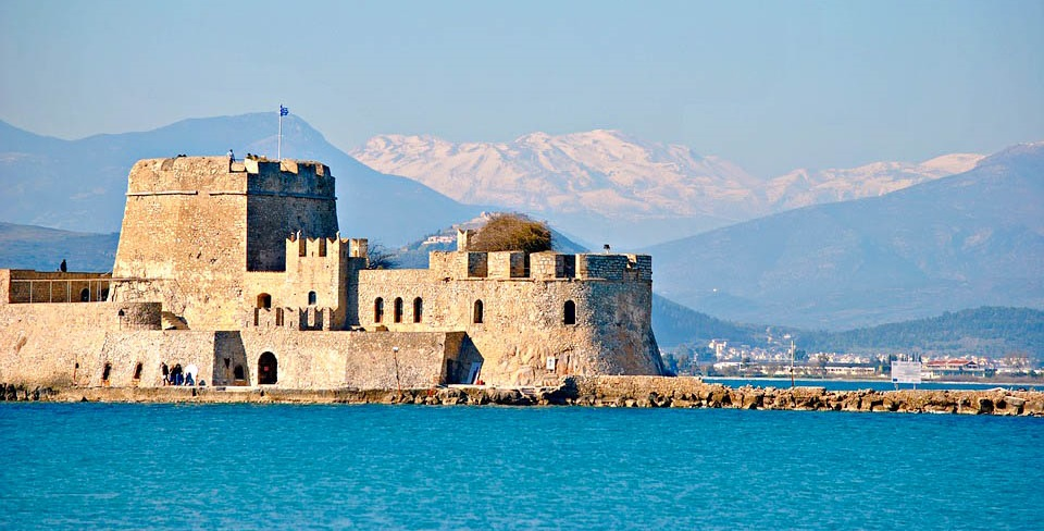 Греція Пелопоннес фортеця Нафпліон