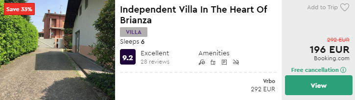 Independent Villa In The Heart Of Brianza
