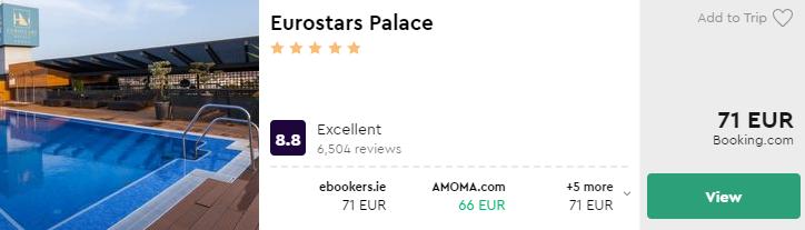Eurostars Gran Via