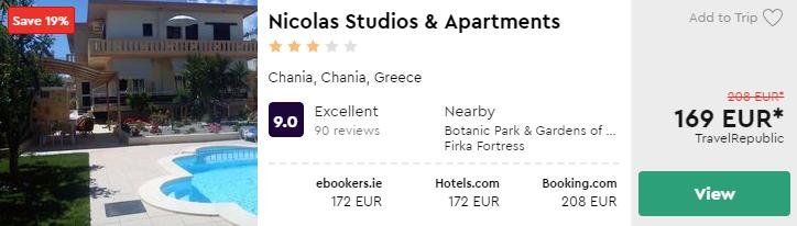 Nicolas Studios & Apartments
