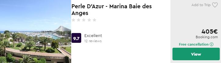 Perle D'Azur - Marina Baie des Anges