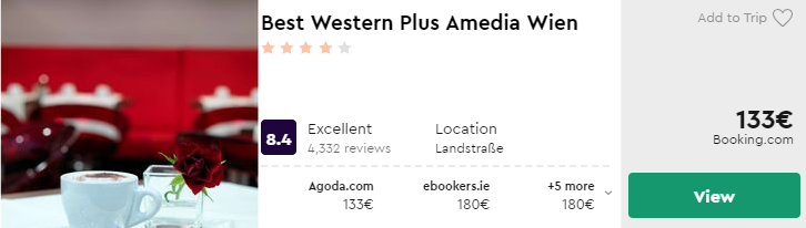 Best Western Plus Amedia Wien