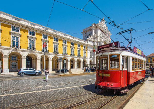 Португалія Лісабон трамвай