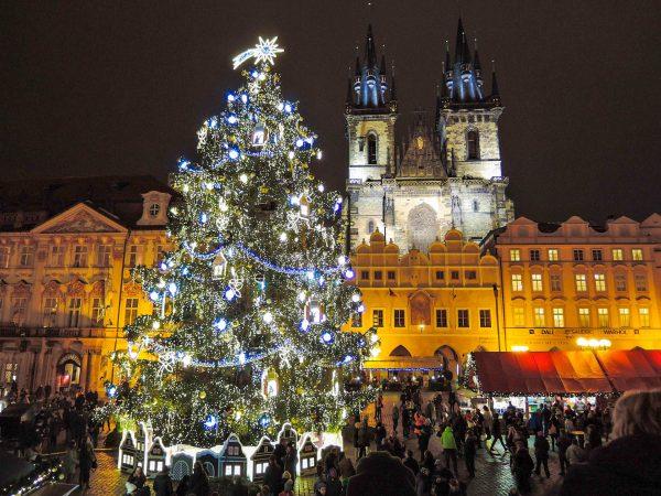 Чехія Прага різдво