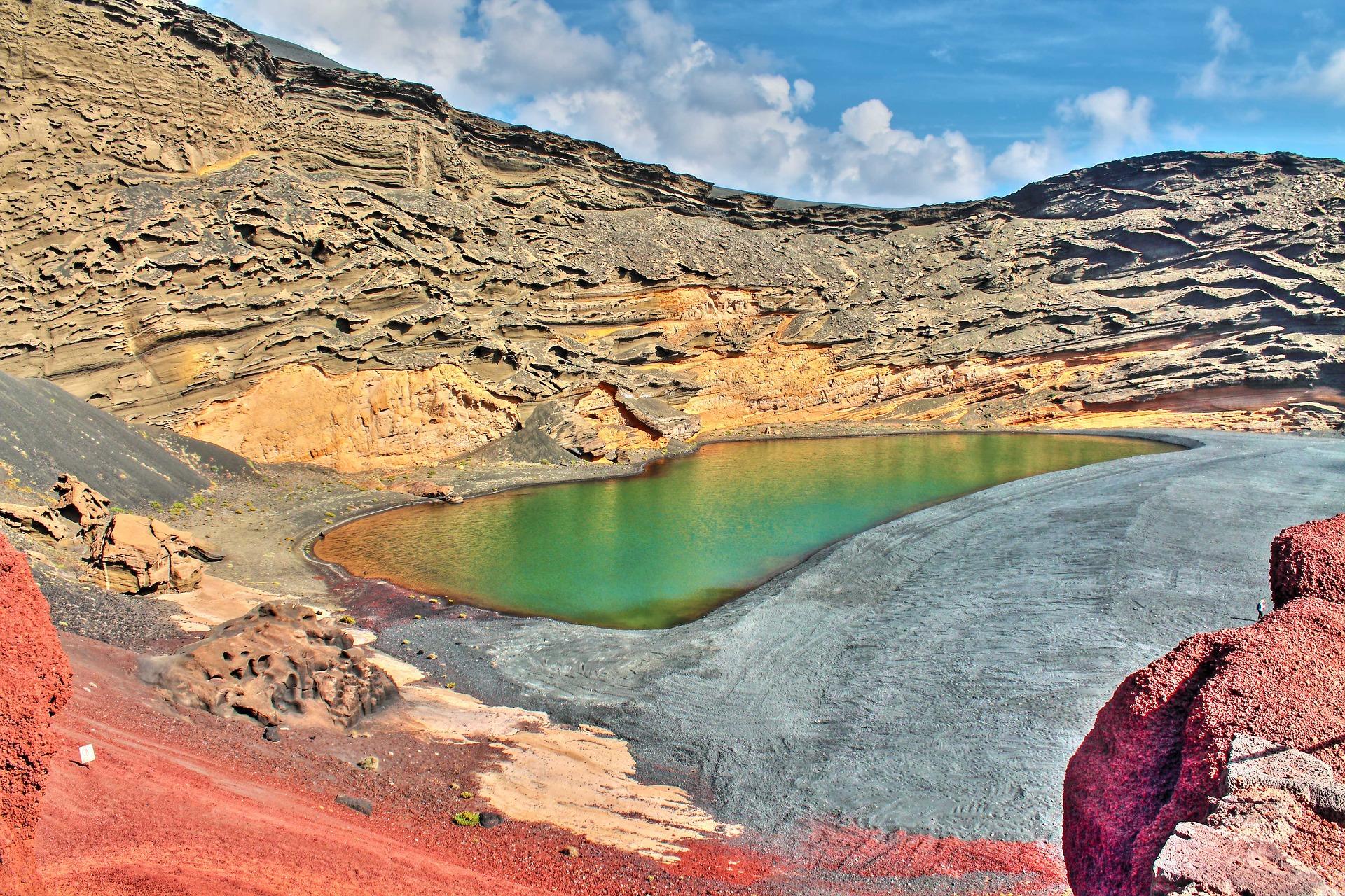 лансароте зелене озеро