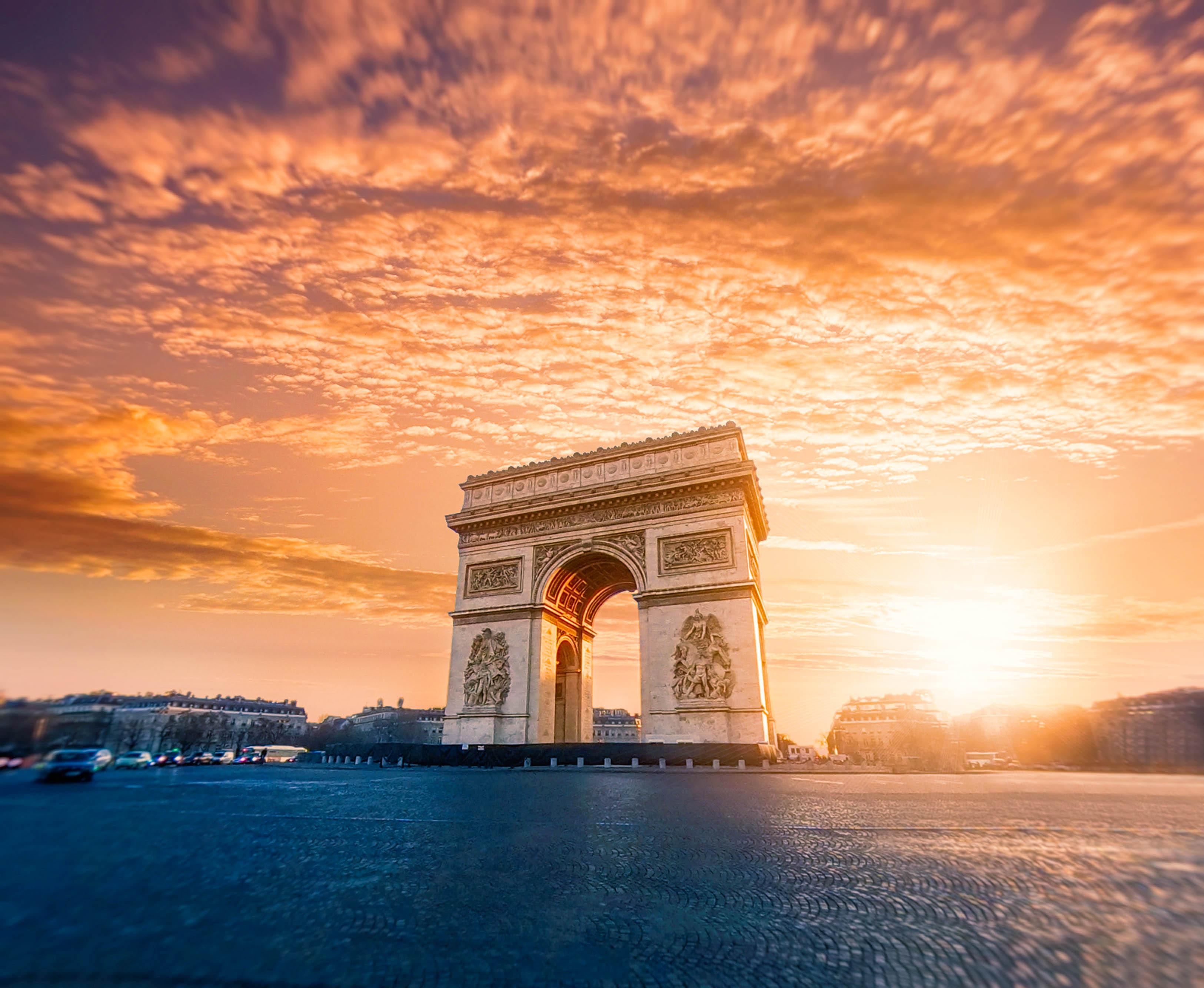 Франція Париж Тріумфальна арка
