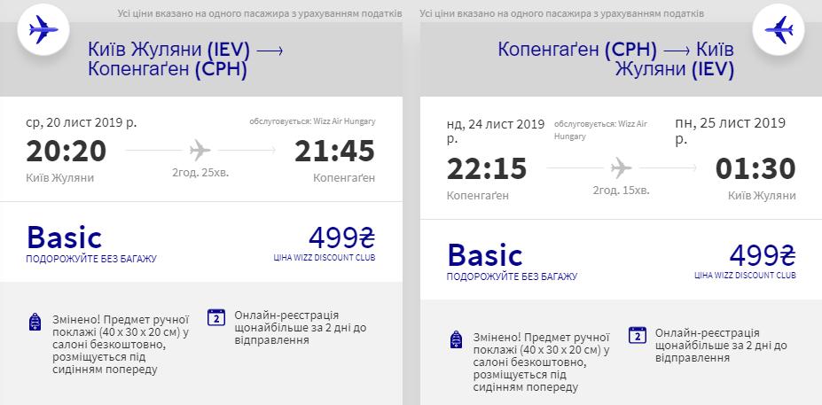 Київ - Копенгаген - Київ