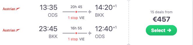 дешеві квитки до Бангкока