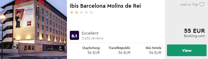 Ibis Barcelona Molins de Rei