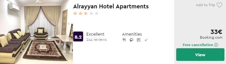Alrayyan Hotel Apartments
