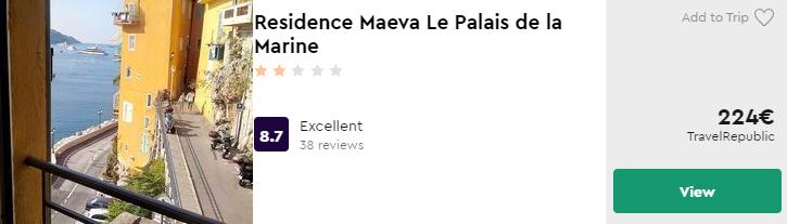 Residence Maeva Le Palais de la Marine