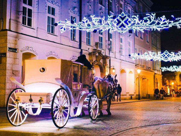 Польща Краків різдво