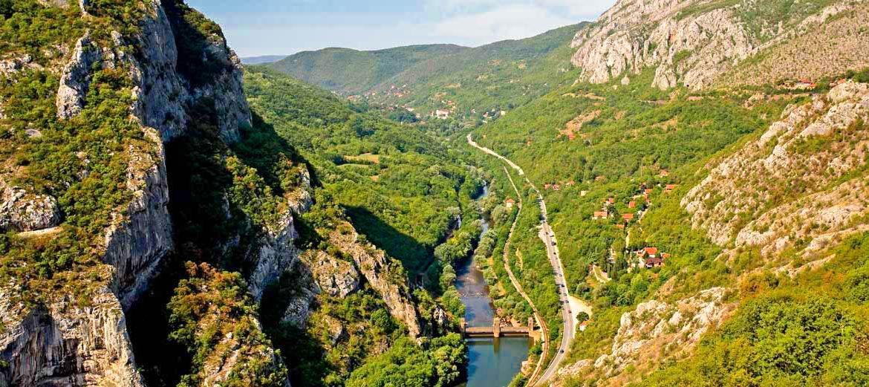 Сербія Січево ущелина
