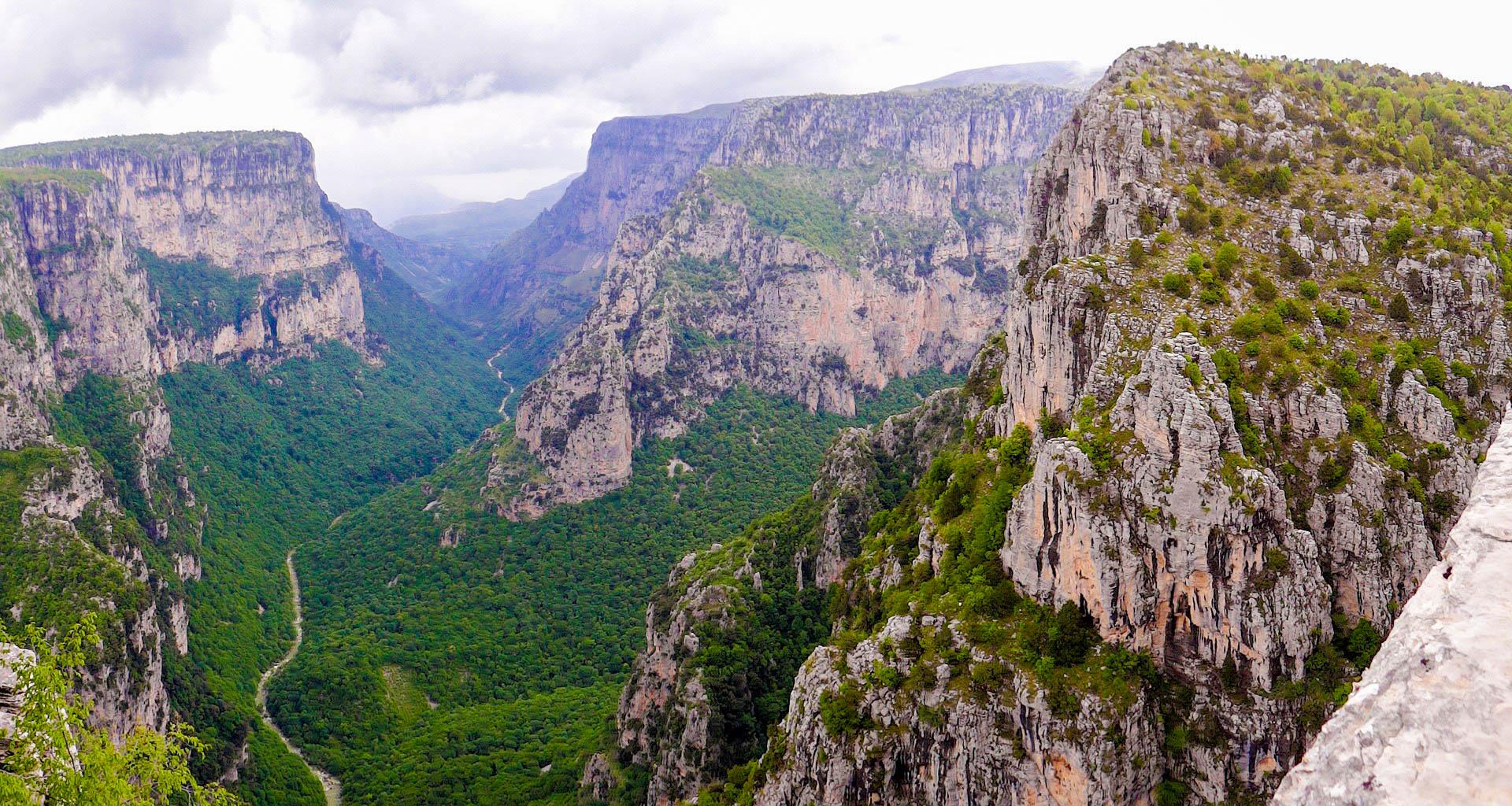 Греція каньйон Вікос