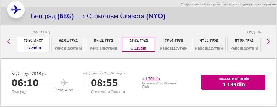Белград -Стокгольм