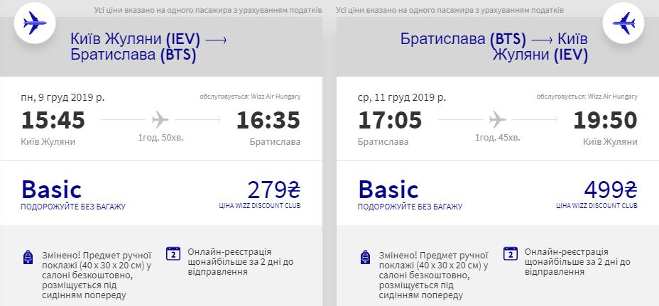 Київ - Братислава - Київ