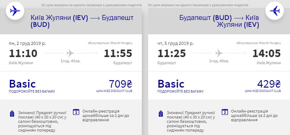 Київ - Будапешт - Київ