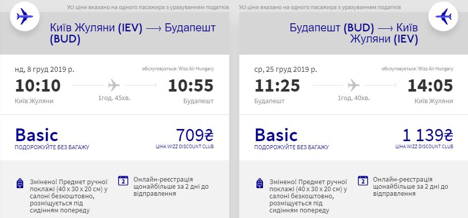 Київ - Будапешт -Київ >>