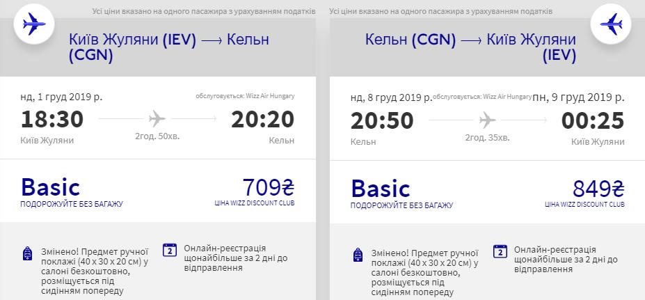 Київ - Кельн - Київ