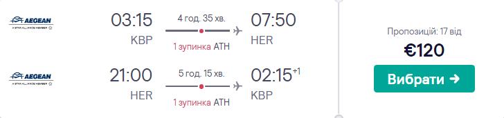Київ - Крит - Київ
