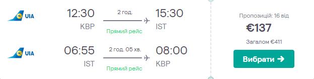 Київ - Стамбул - Київ