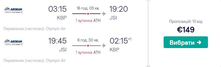 Київ - Скіатос - Київ