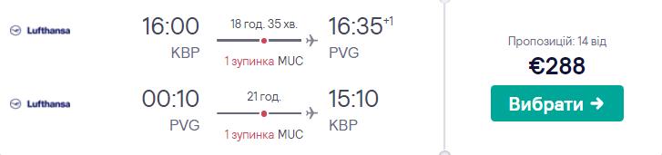 Київ - Шанхай - Київ >>