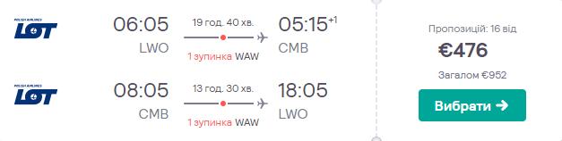 Львів - Коломбо - Львів >>