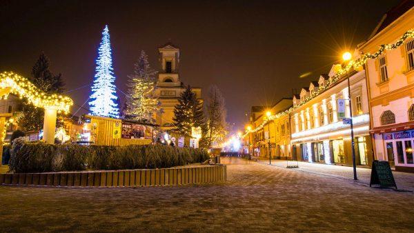Словаччина Попрад Татри Різдво