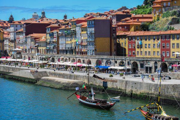 порту вид на місто