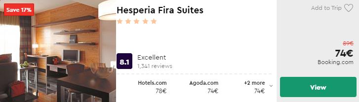Hesperia Fira Suites