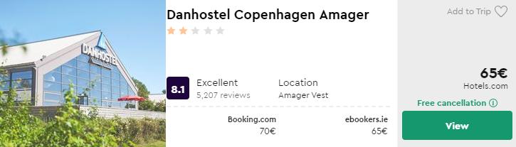 Danhostel Copenhagen Amager