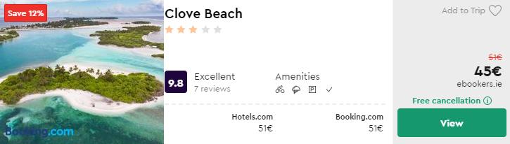 Clove Beach