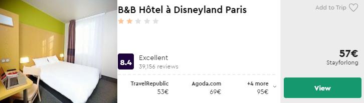B&B Hôtel à Disneyland Paris