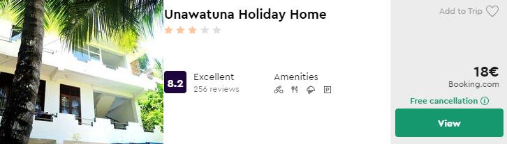 Unawatuna Holiday Home