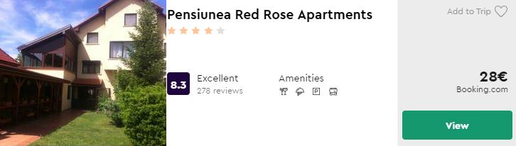 Pensiunea Red Rose Apartments