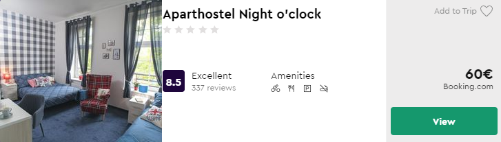 Aparthostel Night o'clock