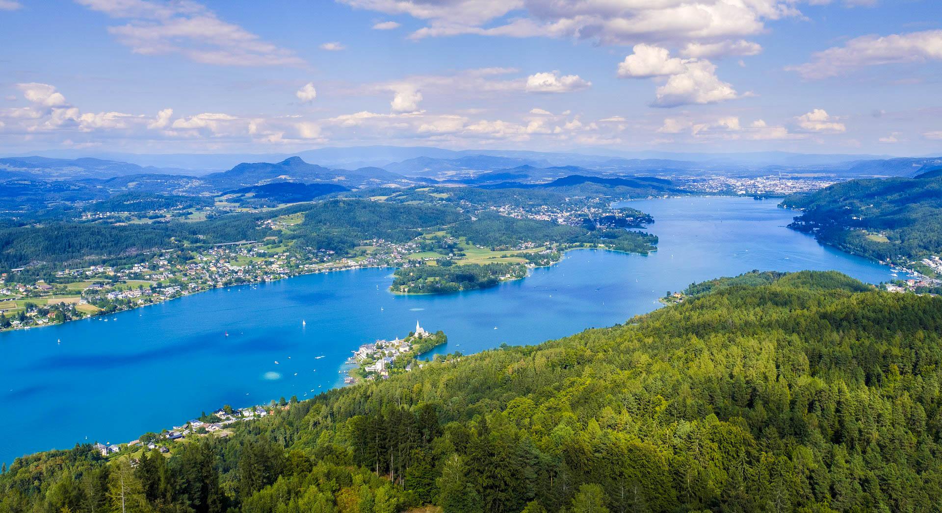 Австрія озеро Вертерзее
