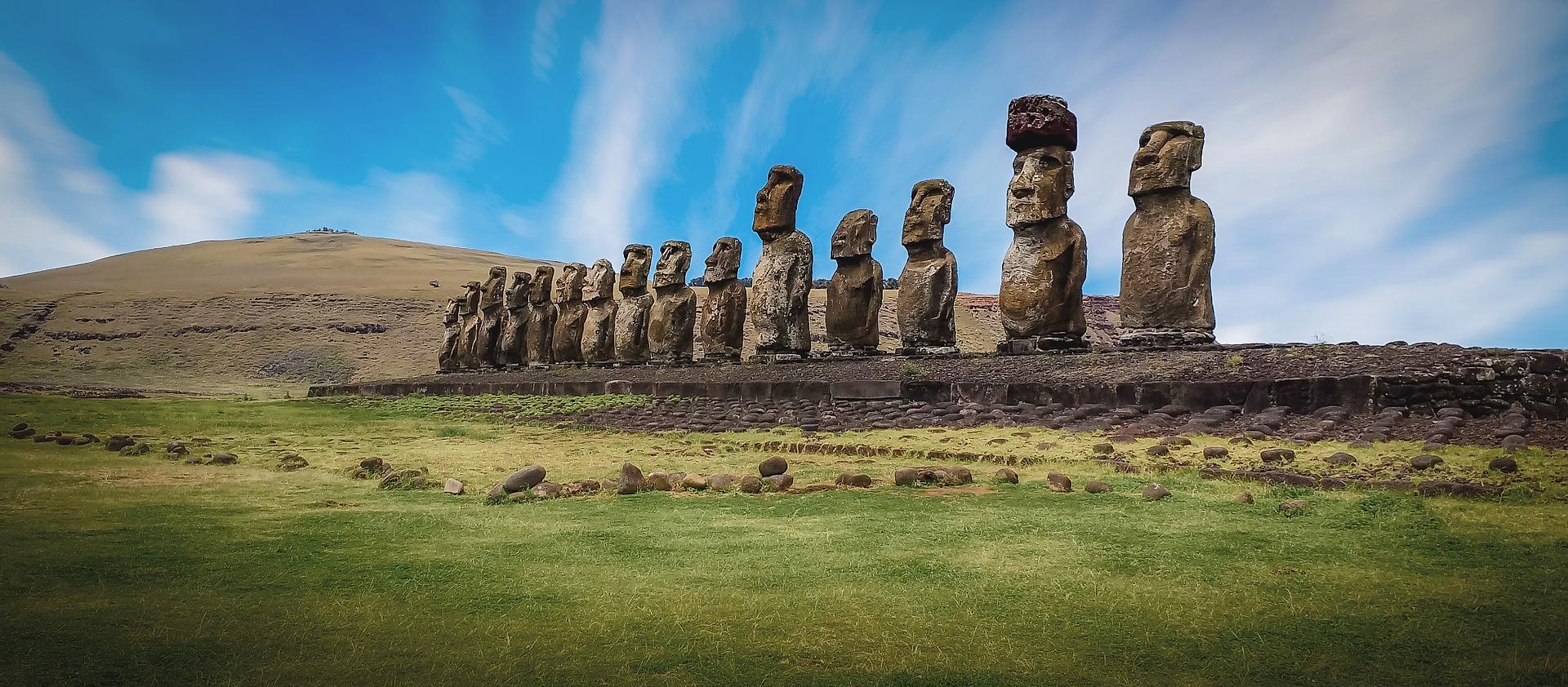 Чилі острів Пасхи моаї