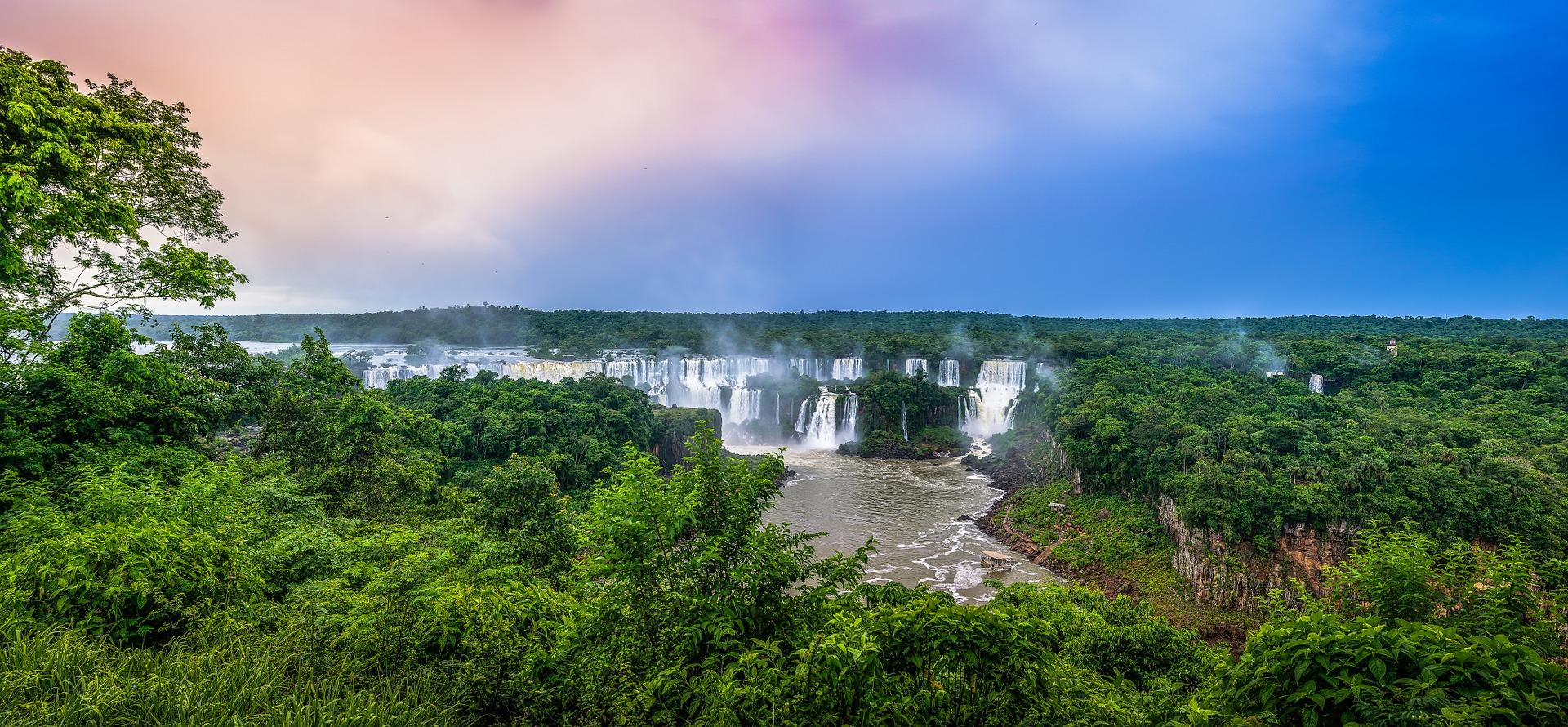 Бразилія Ігуасу водоспади