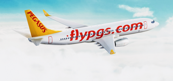 Літак Pegasus Airlines