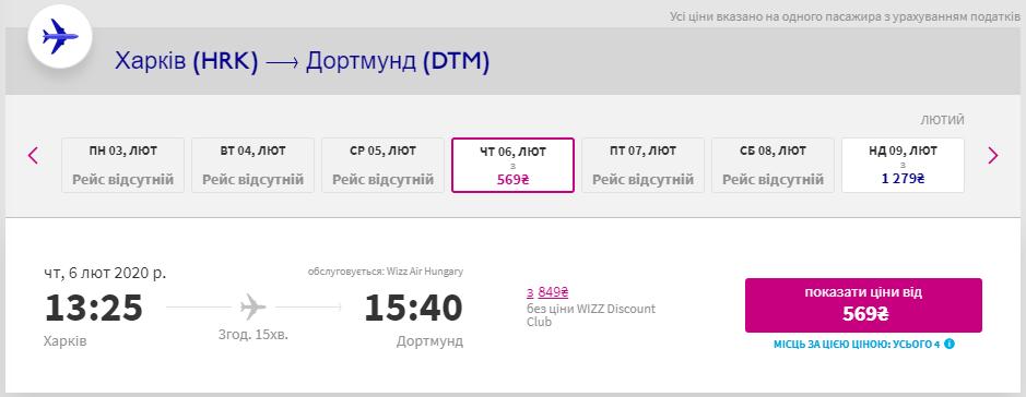 Харків - Дортмунд
