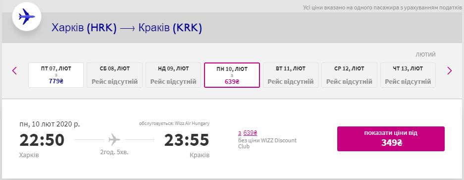 Харків - Краків