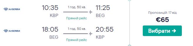 Київ - Белград - Київ