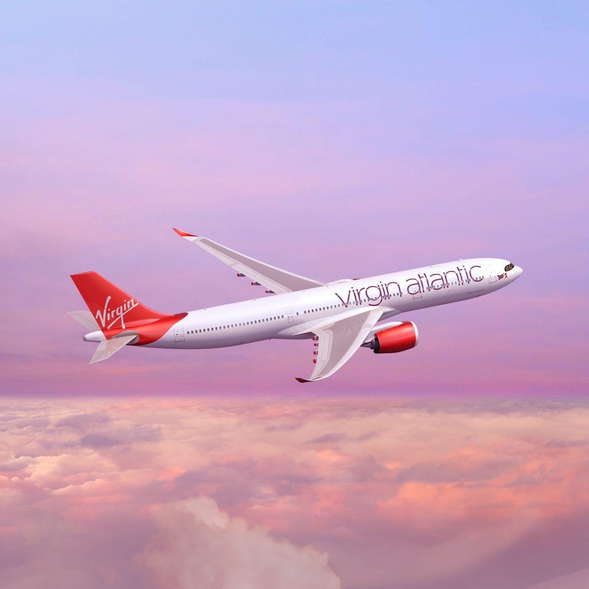 Літак Virgin Atlantic Airways