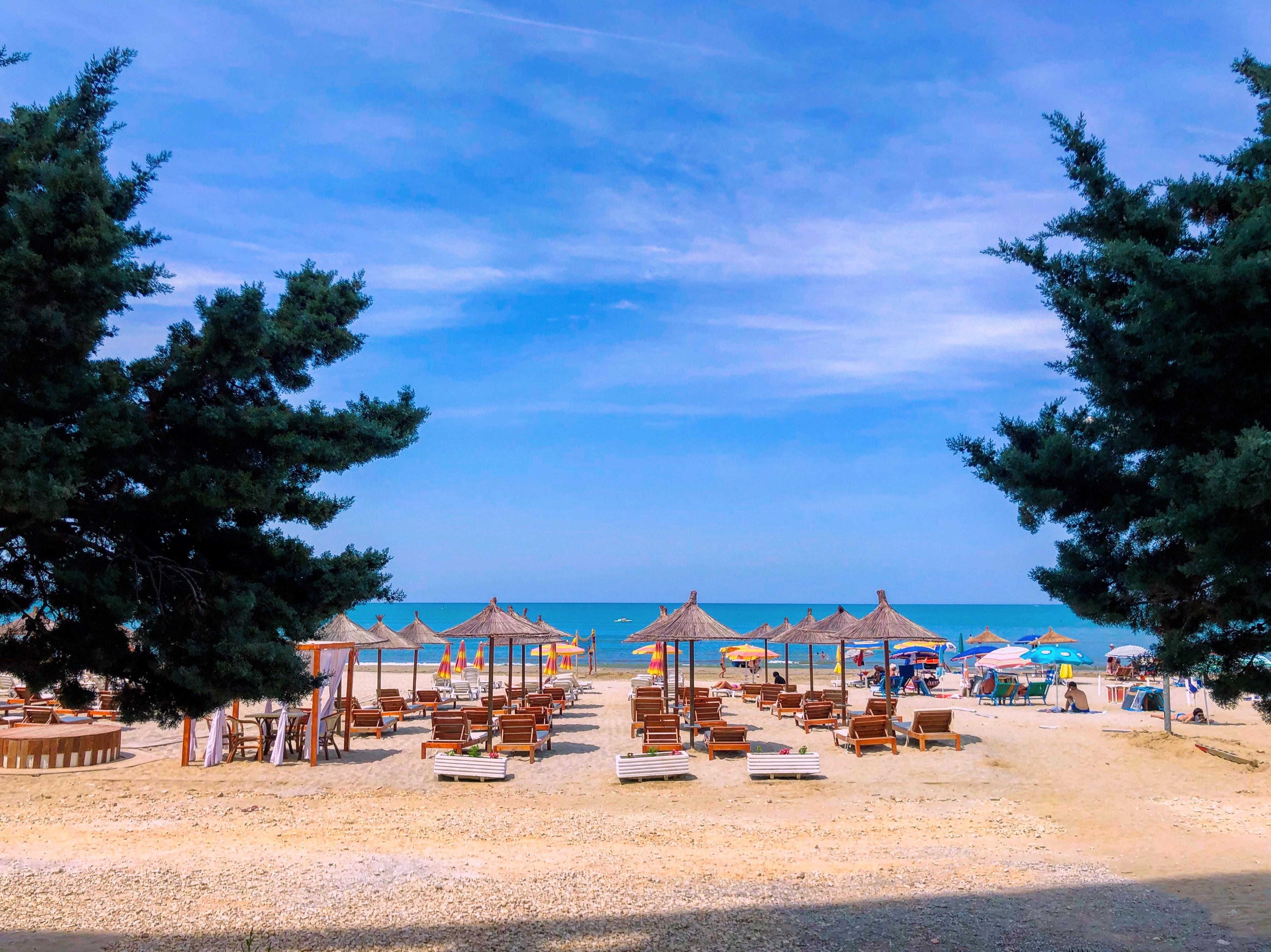 дюррес пляж